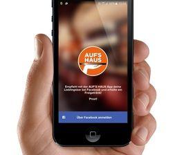 Social-Media-Marketing: Mit der App aufs Haus können Gastronomen Gäste zu Weiterempfehlungen motivieren