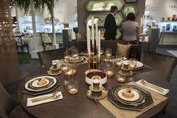 Gedeckter Tisch: Die Fachmesse Ambiente präsentiert unter anderem Tabletop
