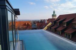 Zeit zum Ausspannen: Finden Gäste auf dem Dach des Hotels
