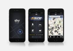 Parktisches Tool: Mit der App lässt sich die nächste Sportsbar oder das nächste Hotel mit Sky Programm ermitteln