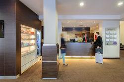 Das Modell könnte Schule machen: der Mini-Supermarkt in der Lobby