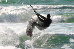 Trendsport Kiten: Die Surfer beleben die Nordseeküste