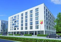 Neues Hotel in München: Das Super 8 an der Landsberger Straße, hier ein Rendering, ist jetzt gestartet