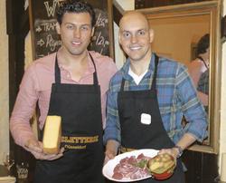 Auf den Geschmack gekommen: (von links) Timo Schmitz und Markco Perkuhn.