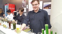 Matcha-Gin-Tonic: Bartender Erik Dürrschmidt mixte kreative Cocktails