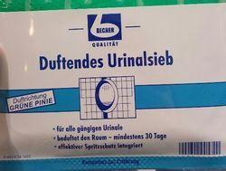 Guter Geruch: Mit dem Urinalsieb könnte das Bad demnächst nach Pinie duften