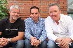 Zufrieden mit den Jahreszahlen: (von links) Christoph Strenger, Michael Maier und Roland Koch, die drei Geschäftsführer der Gastro Consulting SKM GmbH