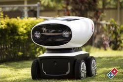 Bringt Pizza: Der Roboter DRU von  Domino's Pizza
