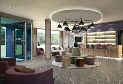 Blick in die Lobby: Mit diesem Design soll das Best Western Hotel The K überraschen