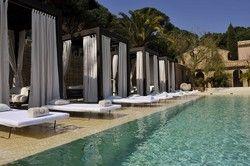 Schick: Der Pool im Muse St. Tropez