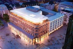 So soll's aussehen: Der Entwurf für das sanierte Dom Hotel von Ingenhoven Architects