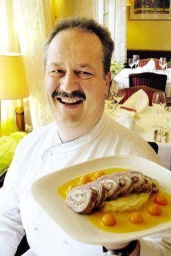"""Seine """"Bodenseeküche"""" machte Clemens Baader vom Berghotel Baader in Heiligenberg bekannt. Heute kocht er kalorienbewusst <tbs Name="""
