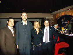 Neue Mitglieder: <em>(von links) Präsident Raffaele Sorrentino, Peter Wedau, Kathrin Beulshausen und Christian Klüß <tbs Name=