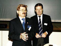 Kritik an der Bundespolitik: <em>(von links) Lothar Heigl und Gerhard Engelmann</em> <em><tbs Name=