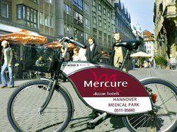Beispiel aus Hannover:<em> Das Nextbike fällt auf <tbs Name=