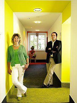 Angebot für die Damenwelt:<em> Waltraud Schunath-Bumb und Michael Bumb haben ihr Design-Hotel bereichert <tbs Name=