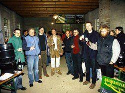 Ein Prosit auf die Vielfalt: <em>Brauer-Treffen während des Genussmarktes im Museumsdorf Kiekeberg<tbs Name=