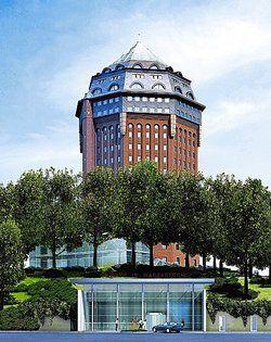 Wird von institutionellen Anlegern finanziert: <em>Das Mövenpick Hotel an der Sternschanze in Hamburg, das voraussichtlich im Juni 2007 eröffnet wird <tbs Name=