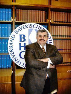 Bleibt standhaft: <em>BHG-Präsident Siegfried Gallus <tbs Name=