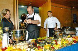 Vorgeschmack auf den Herbst: <em>Was die Gäste bis 4. November erwartet, wurde bei der Auftaktveranstaltung zum kulinarischen Herbst 2007 in Bad Windsheim präsentiert <tbs Name=