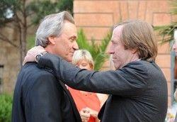 Prominenter Gast: Günter Netzer (rechts) gratuliert Jürgen Mack