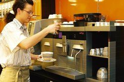 Auch die Optik zählt: <em>Kaffeemaschine von Melitta SystemService<tbs Name=