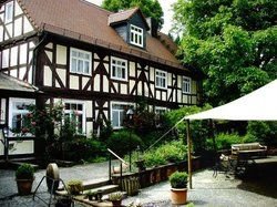 Große Kapazität: <em>Hotel-Restaurant Dammühle bei Marburg<tbs Name=