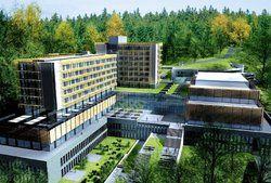 Blick auf den Odenwald: <em>Das Projekt in Seeheim gehört zu den größten Tagungshotels in Deutschland <tbs Name=