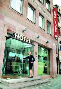 Vielseitige Geschäftsfrau: Die 35-jährige Daniela Hüttinger ist Akademikerin und Unternehmerin