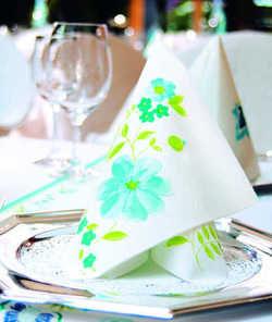 Duftig: Tischblumen