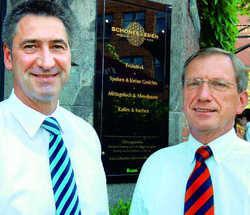 Idee trifft Finanzierung: Jens Stacklies (links) und Stefan Papirow arbeiten eng zusammen