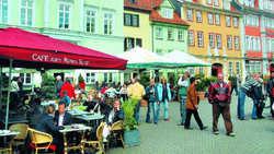 Gästestrom: Städte wie Erfurt ziehen Besucher an
