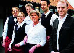 Sorgen für frischen Wind: (von rechts) Tim Biedler, Frans Ijben, Hans Brümmer, Kurt Friedl, Nicole Jungeblut und Ingeborg Hanusz