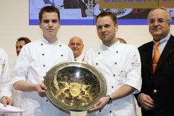 Triumphieren: Die Sieger der Intergastra 2008