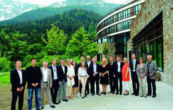 Treffen in Berchtesgaden: Die Sponsoren des Spa Director's Club