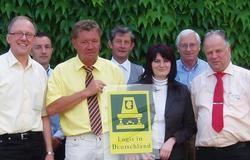Zufrieden mit der neuen Kooperation: Die Mitglieder von Logis Deutschland