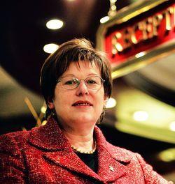 Die Powerfrau: Monika Gommolla.