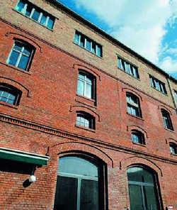 Industrieromantik: Das Hostel befindet sich in der ehemaligen Pfeffer-Brauerei