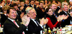 Applaus:  Referenten überzeugten beim Hotelkongress 2008