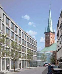Soll Lübecks erstes Hotel in der Altstadt werden: Das Atlantic Hotel.