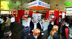 Treffpunkt: Der Stand von DEHOGA Bundesverband und Gastgewerbe NRW wird wieder viele Besucher anziehen