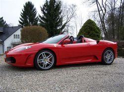Flott unterwegs: Hotelgäste können ein Ferrari-Package buchen