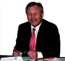 Kämpferisch: Landrat Walter Eichner