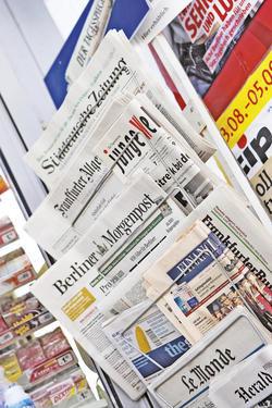 Mit der Zeitung aus Jakarta punkten