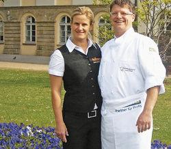 Eingespieltes Team: Karin und Jörn Weinert