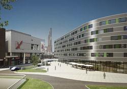 So sieht der Plan aus: Innside by Meliá soll nach Wolfsburg kommen