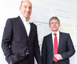 Steuern die Robinson Clubs: Ingo Burmester (links) und Max-Peter Droll