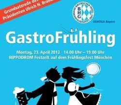 Werbeplakatt für den GastroFrühling