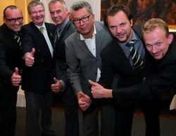 Neuer DBU-Vorstand: (von links) Ulf Neuhaus, Johannes Bak, Walter Kaufmann, Miloudi Bouslim, Matthias Knorr und Sascha Thieben