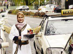 Nikolaus-Umtrunk für Berliner Taxifahrer
